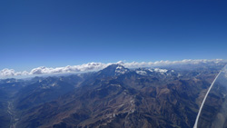In the approach of Aconcagua